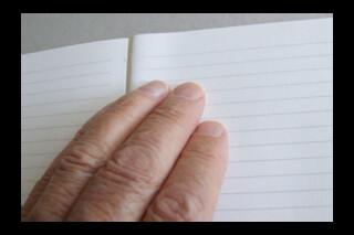 Book Block ~ A5P Journal ~ 80 cream ruled feint leaves ~ 160pp ~ 90gsm