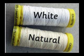 Gütermann natural linen thread