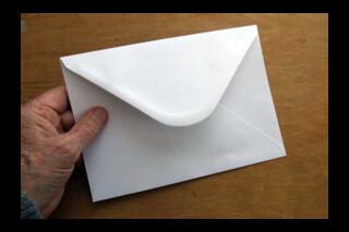 C5 reduced greetings card envelope