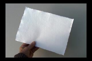 Khadi handmade rag paper ~ 150gsm ~ A4 sheets ~ natural