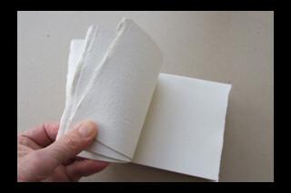 Khadi small art bookblock