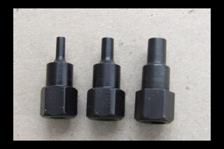 Bits for steel and plastic punches