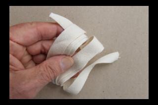 Soft cotton tying tape