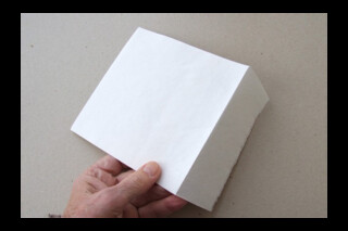 Khadi envelope ~ white ~ 15cm square