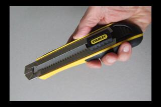 Stanley 25mmsnap off bladed knife