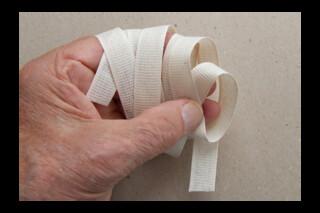 Cotton bookbinding tape ~ stiff ~ 10mm wide