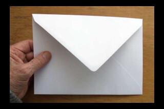 C5 greetings card envelope
