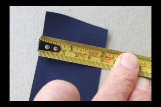 Deep blue 5cm linen sticky tape